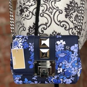 Michael kors Tina floral small clutch leather